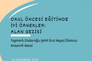 Alan Gezisi: Taşmanlı Dizdaroğlu Şehit Erol Keçeci İlkokulu Anasınıfı Gezisi